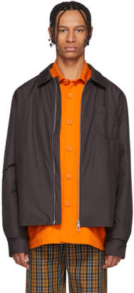 Schnaydermans Grey One Overshirt Bomber Jacket