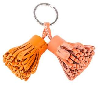 Hermes Carmen Pom-Pom Duo Keychain