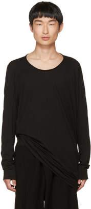 Julius Black Cut and Sewn T-Shirt