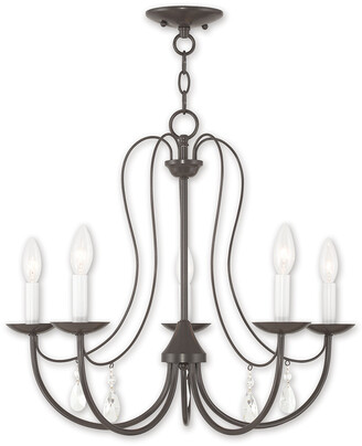 Livex Lighting Livex Mirabella 5-Light English Bronze Chandelier
