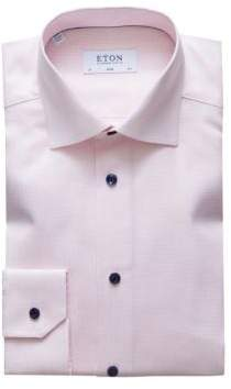 Eton Slim-Fit Crease-Resistant Textured Shirt