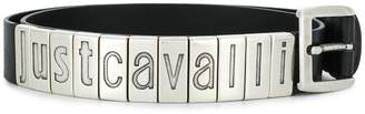 Just Cavalli metal logo belt