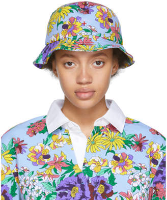 Noah NYC Multicolor Floral Rugby Bucket Hat