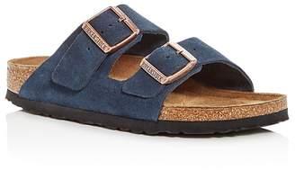 Birkenstock Women's Arizona Suede Slide Sandals