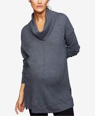 Splendid Maternity Cowl-Neck Sweatshirt