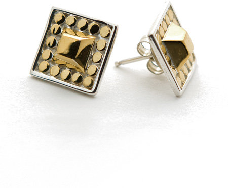 Anna Beck Gold Stud Post Earrings