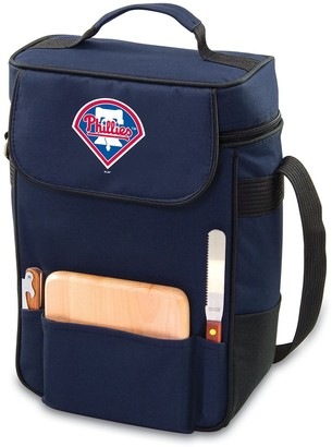Picnic Time Philadelphia Phillies Duet Insulated Wine & Cheese Bag