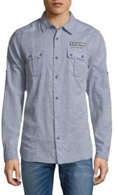 Buffalo David Bitton Salamen Button-Down Shirt