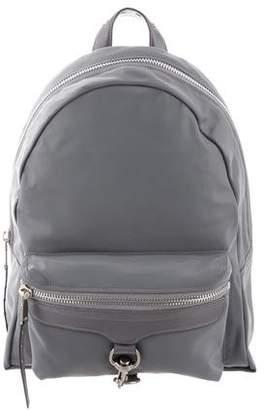 Rebecca Minkoff Nylon Leather-Trimmed Backpack