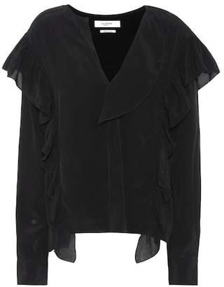 Etoile Isabel Marant Isabel Marant, Étoile Welby ruffle blouse