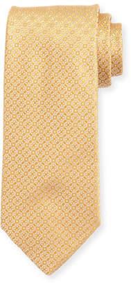 Charvet Miniature-Medallion Silk Tie