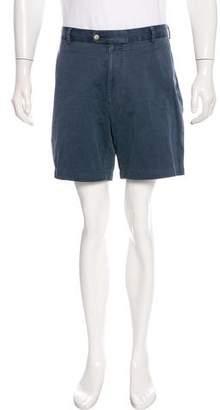 Peter Millar Twill Flat Front Shorts