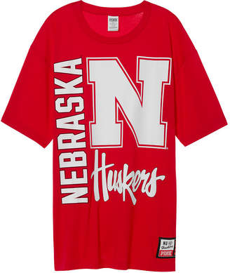 Tailgate PINK University Of Nebraska Oversized Tee