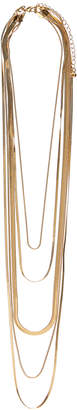 Portmans Australia Layered Fine Chain Choker Necklace