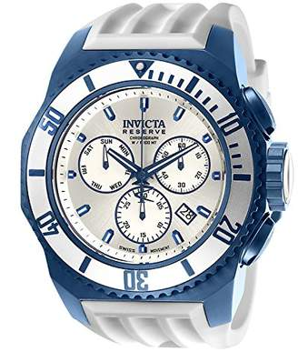 Invicta Men's 'Russian Diver' Quartz Stainless Steel and Silicone Casual Watch