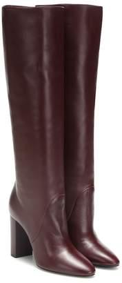 Saint Laurent Lou 95 leather boots
