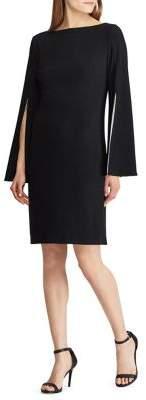 Lauren Ralph Lauren Marisol Slit Sleeve Shift Dress