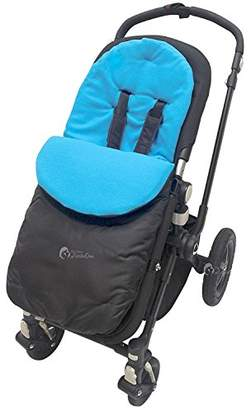 Graco Footmuff/Cosy Toes Compatible with Stadium Duo/Quattro/Mirage/Mosaic Turquoise