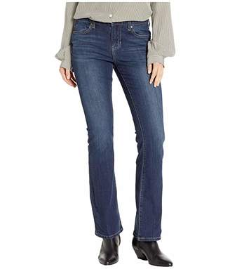Liverpool Petite Logan Hugger Bootcut slimming Four-Way Stretch Denim Jeans in Orion Medium Dark
