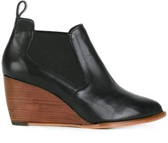 Robert Clergerie wedge ankle boots