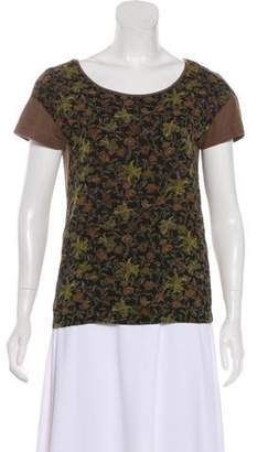 Dries Van Noten Floral Casual Top