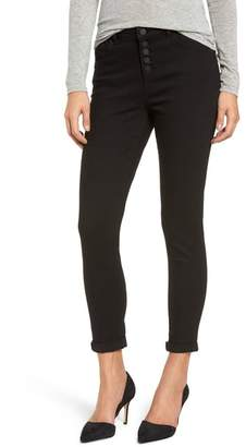 Wit & Wisdom High Waist Button Fly Skinny Ankle Jeans (Regular & Petite) (Nordstrom Exclusive)