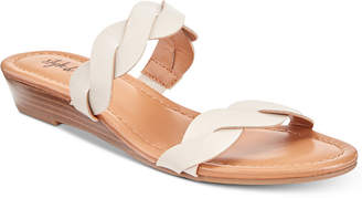 Style&Co. Style & Co Wennde Slip-On Wedge Sandals, Created For Macy's