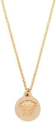 Versace Medusa-coin necklace