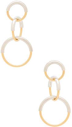Jenny Bird Ossie Earrings in Metallic Silver. $95 thestylecure.com