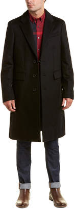 Burberry Halesowen Wool And Cashmere Overcoat