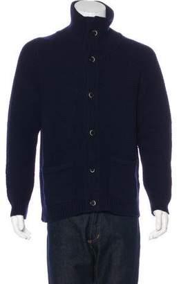 Barena Venezia Wool Button-Up Cardigan