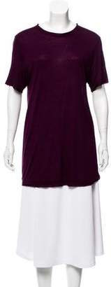 Lanvin Short Sleeve Knit Top