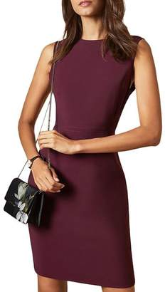 Ted Baker Sskyed Working Title Seam Detail Fitted Dress