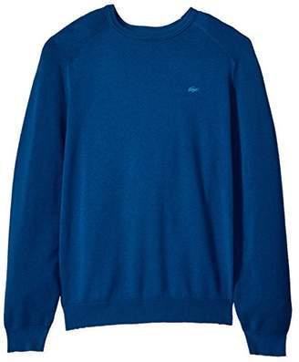 Lacoste Men's Long Sleeve Casual Elegance Premium Crew Sweater