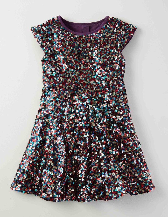 BodenRainbow Drops Dress