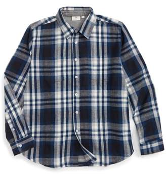 AG Adriano Goldschmied kids Standford Flannel Shirt