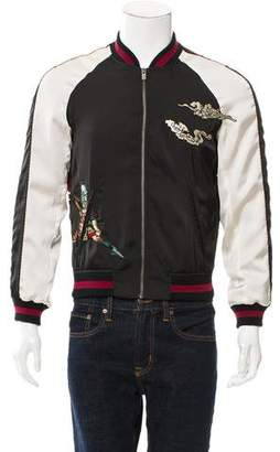 The Kooples Embroidered Bomber Jacket w/ Tags