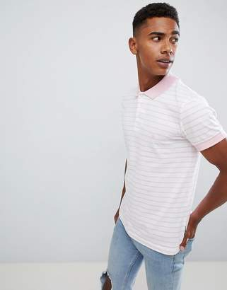 French Connection Single Stripe Polo