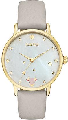 Taurus zodiac metro watch $195 thestylecure.com