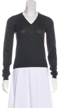 Prada Wool Long Sleeve Top