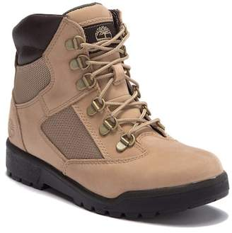 Timberland 6 IN Suede Field Boot (Big Kid)