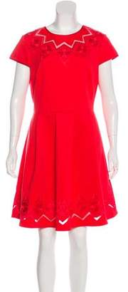 Ted Baker Embroidered Mini Dress w/ Tags