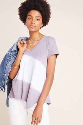Left Of Center Livia Tie-Dyed V-Neck Tee
