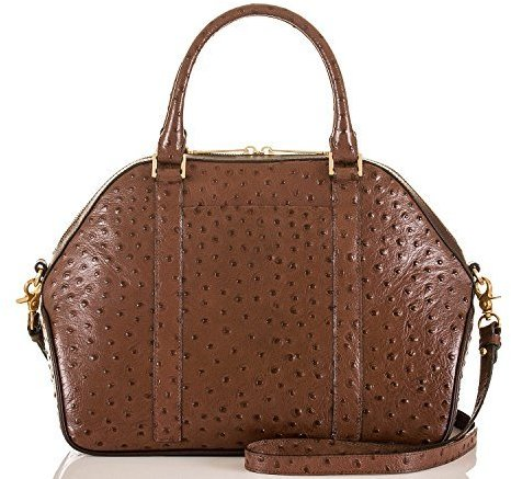 Brahmin Hudson Satchel Papaya Prague