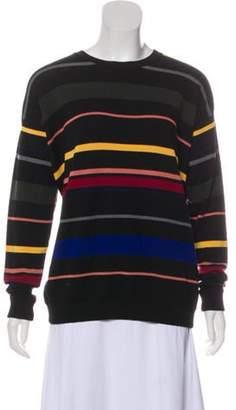 Stella McCartney Heavy Striped Sweater Black Heavy Striped Sweater