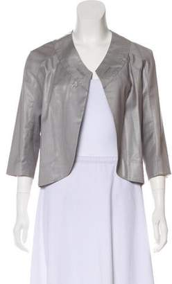 Yigal Azrouel Wool Cropped Jacket