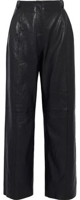 Veda Bess Leather Wide-Leg Pants
