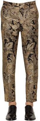 Dolce & Gabbana 17mm Brocade Pants