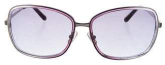 Calvin Klein Collection Metal Butterfly Sunglasses