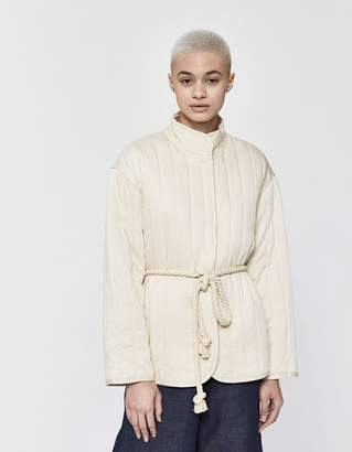 Need Cassidy Quilted Rope Tie Jacket